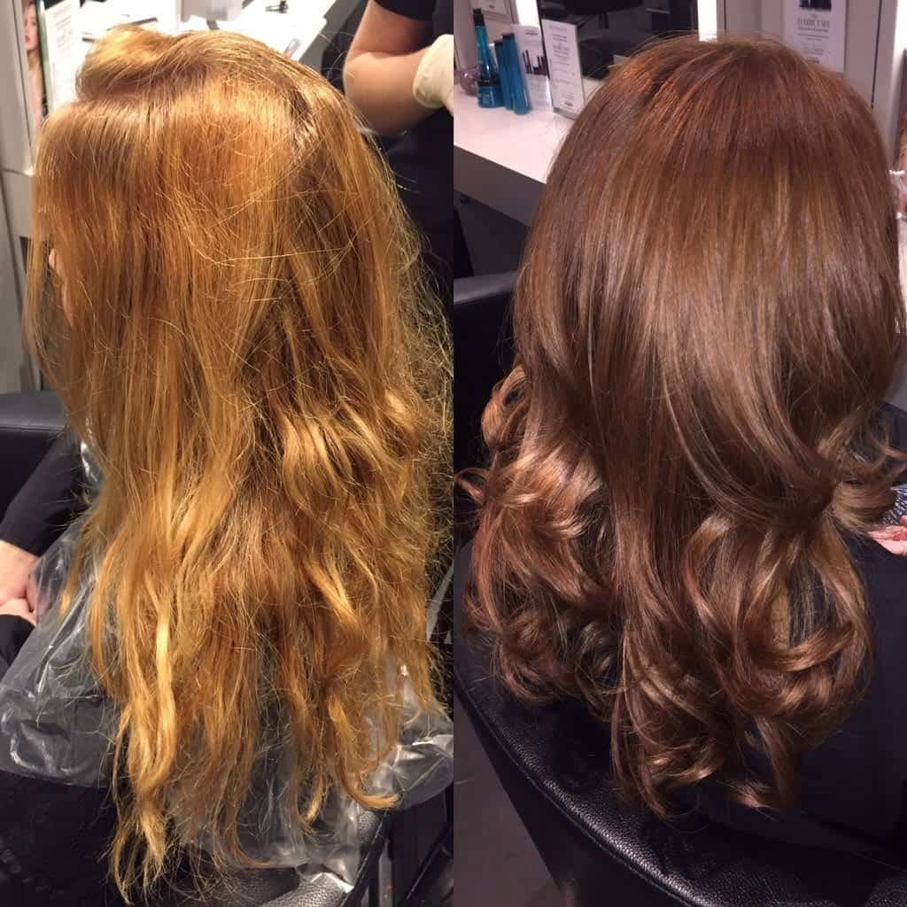 Colour and Blow Dry by Olivia. Toned down for winter