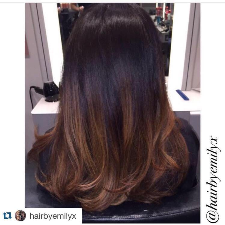 Copper Balayage by Emily