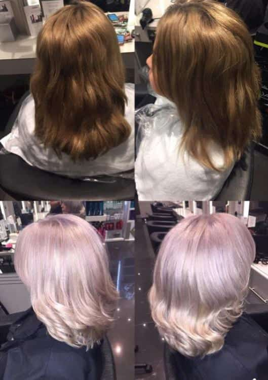 Colour change using Olaplex by Olivia