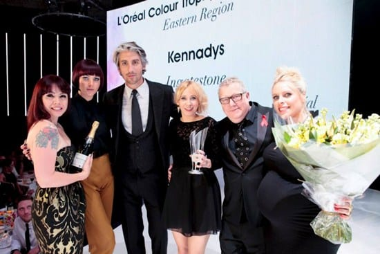 L'Oreal Colour Trophy Regional Winner Award for the Eastern Region
