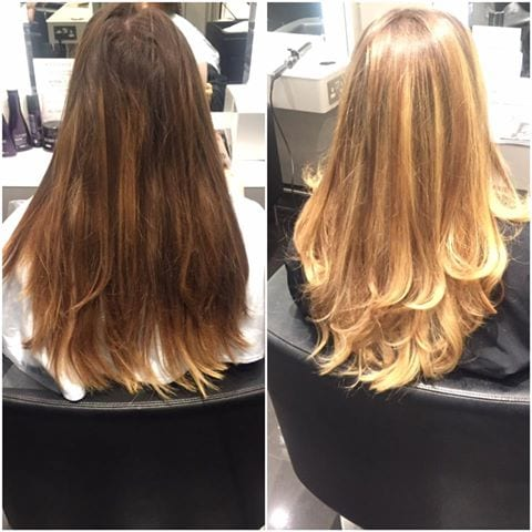 Balayage and Blowdry by Nikki
