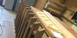 Each staircase, handrail and balustrade is designed and manufactured in our traditional Essex workshop