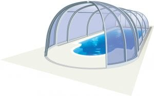 Alicante High Level Pool Enclosure