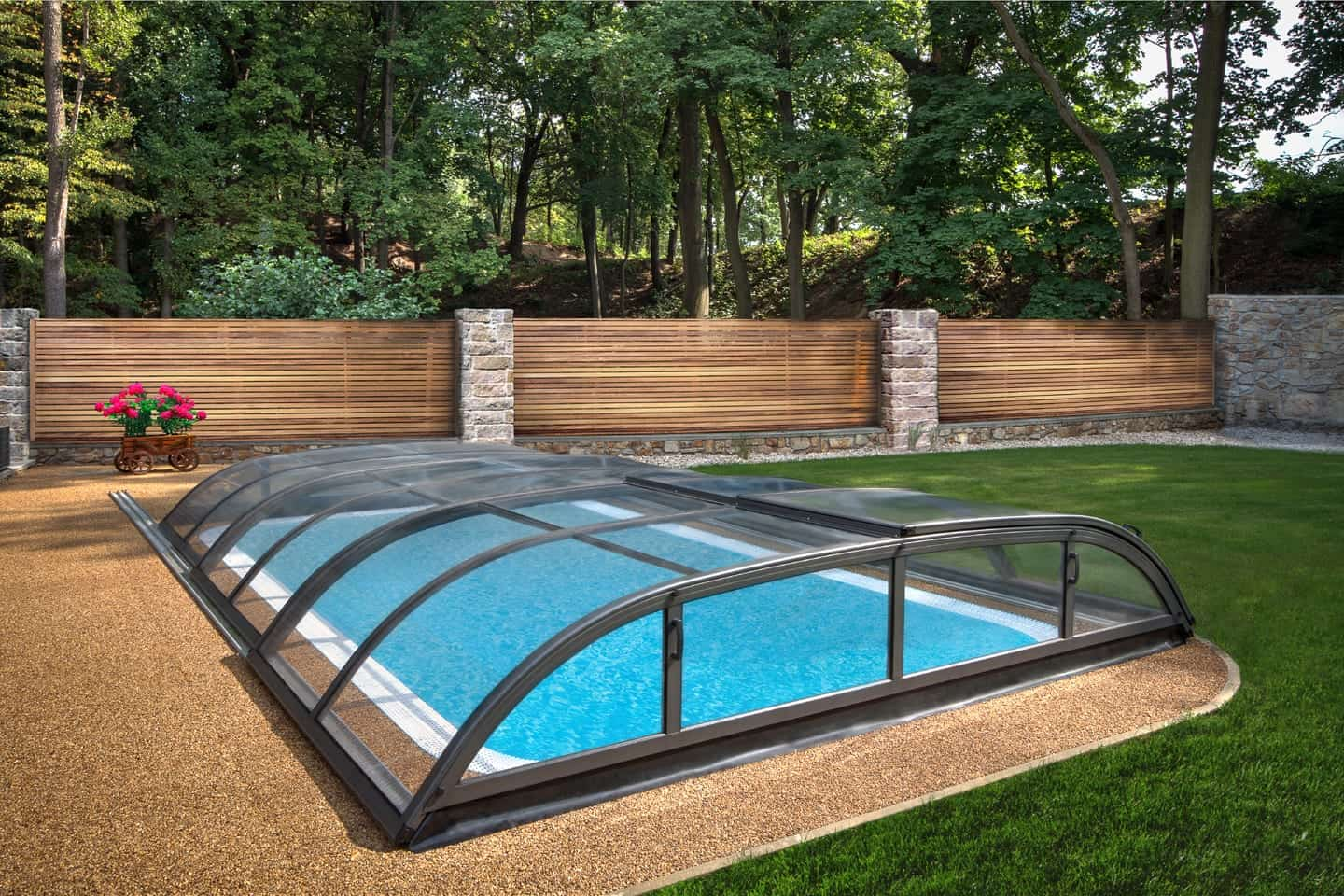 Dallas Mid Level Pool Enclosure
