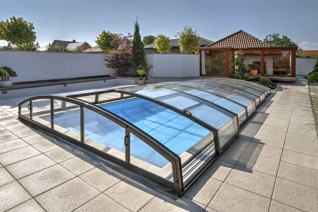 Casablanca Infinity Low Level Swimming Pool Enclosure
