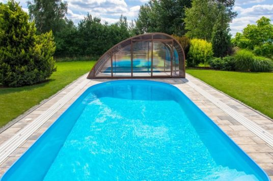 Knightsbridge High Level Pool Enclosure