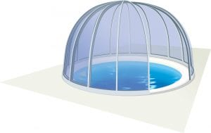 Majorca Mid Level Pool Enclosure