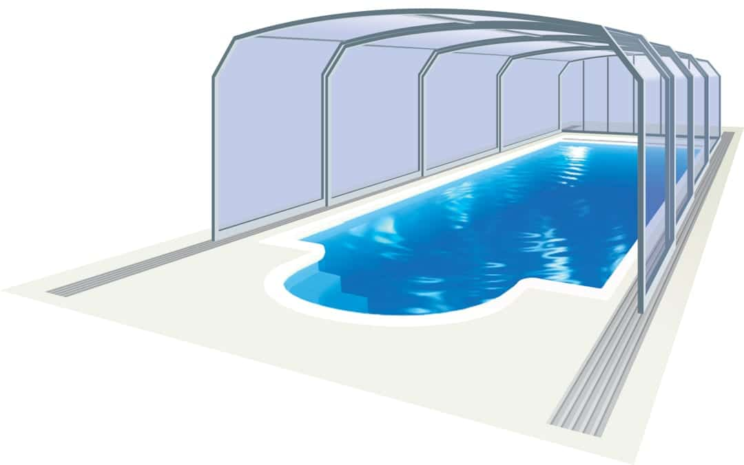 Marina Mid Level Pool Enclosure