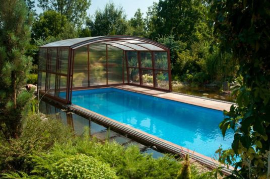 Regent High Level Swimming Pool Enclosure