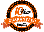 10 Year Quality Guarantee