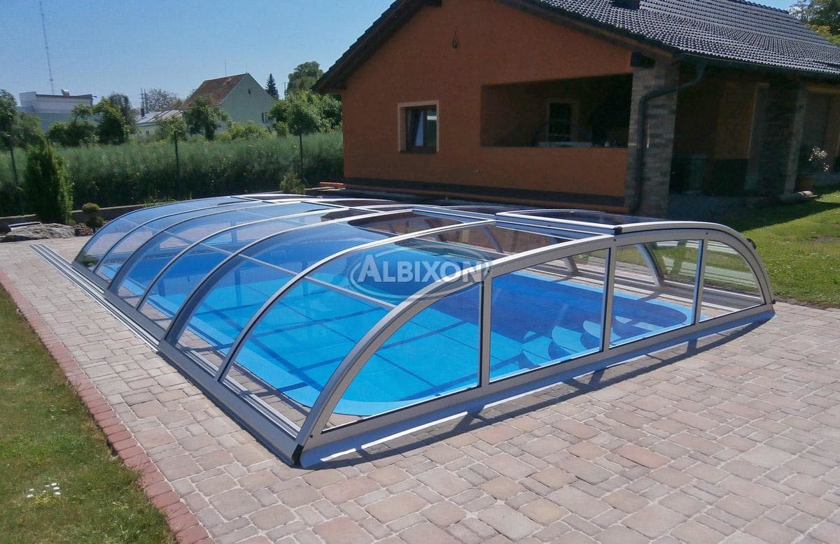 Dallas Clear Pool Enclosure