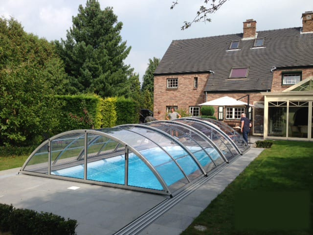 Klasik Clear Pool Enclosure