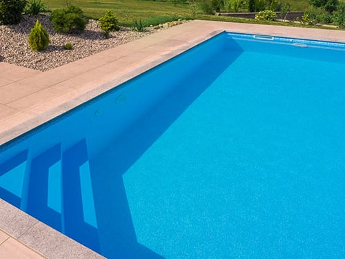 polymer one-piece pools