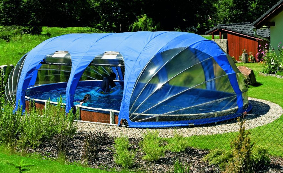 Portable Pool Enclosure Pod 2
