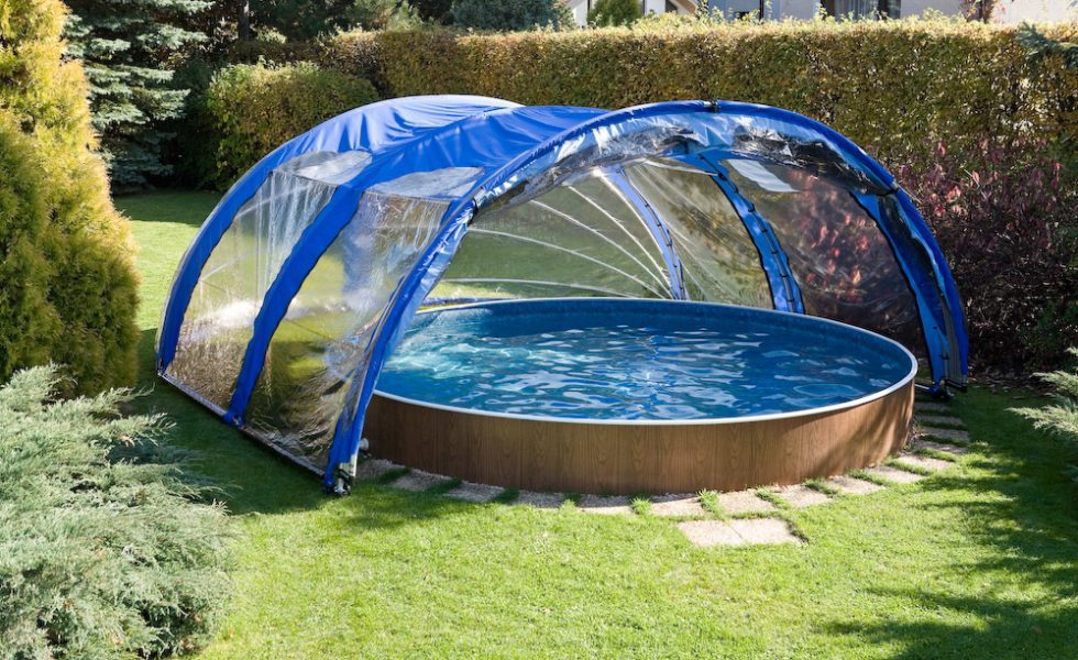 Portable Pool Enclosure Pod 3