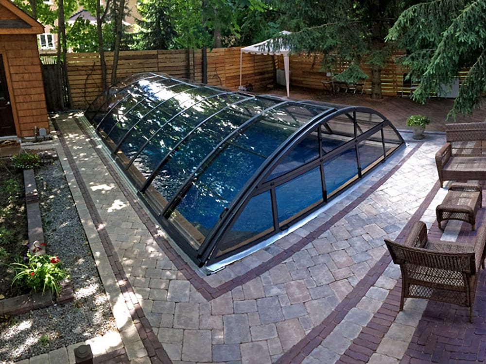 klasik clear b telescopic pool enclosure 3