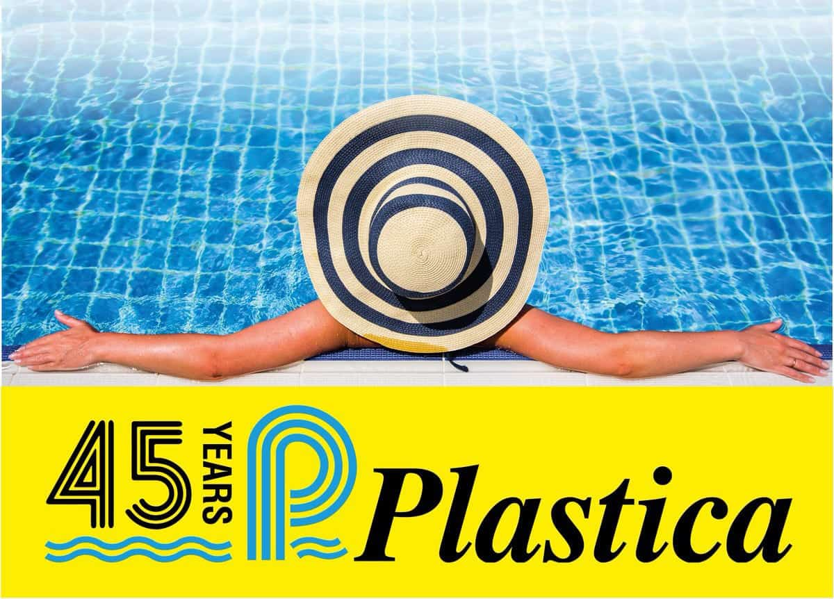 plastica uk logo 45 years
