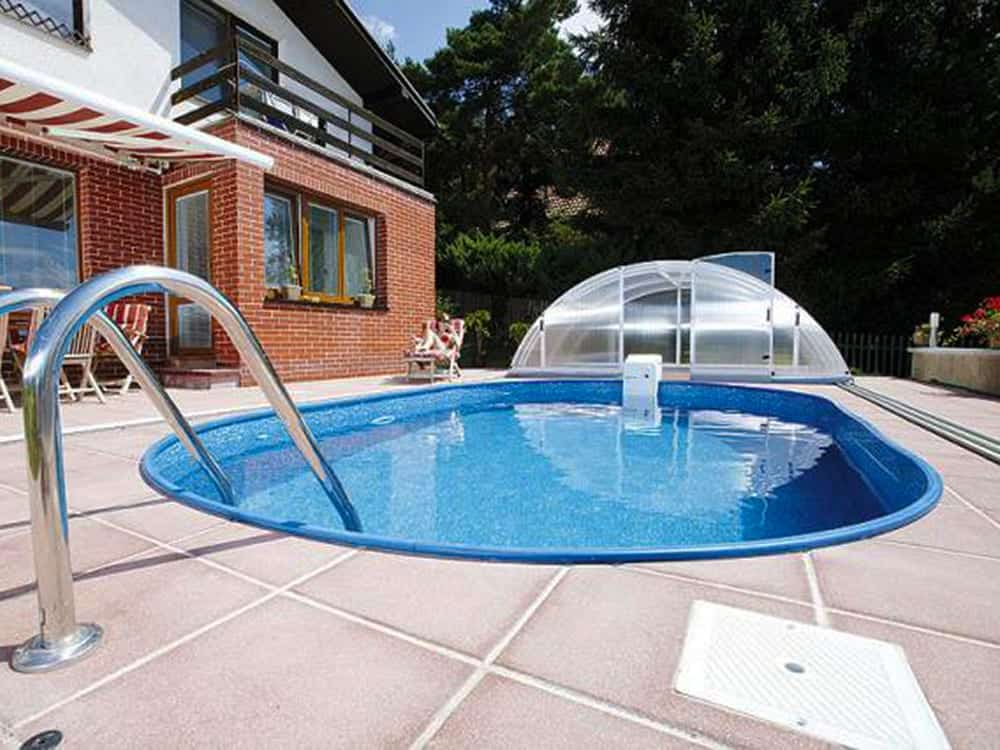 Steel-Framed Swimming Pool Por-Kit