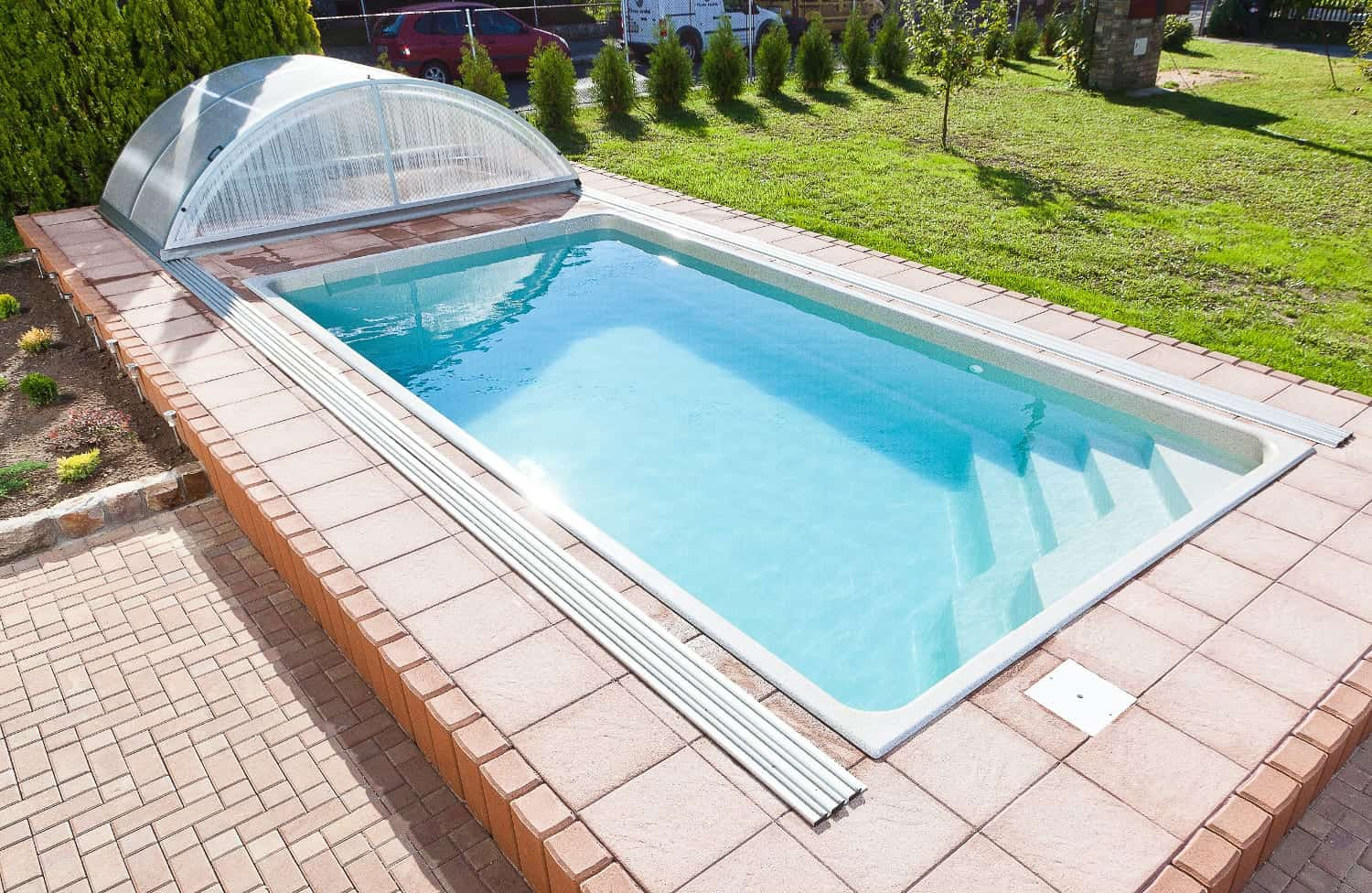 Ametyst Compact Ceramic Pool: 6.18 X 3.14 X 1.40m