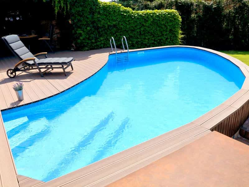 Dura Polymer Skimmer Pool – Atypical Shape (Bespoke)
