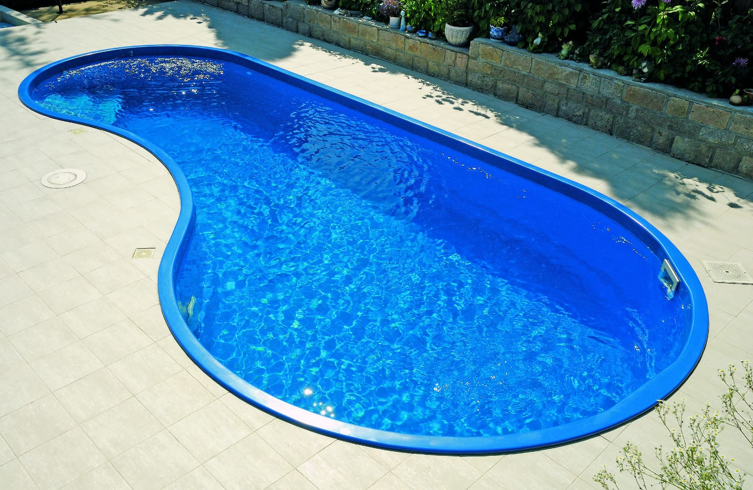 Rhodos 7.50m X 3.50m X 1.40m One Piece Fibreglass Pool *NO LONGER MADE*
