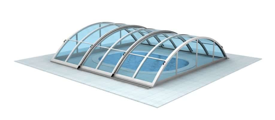 All-season Pool Domes