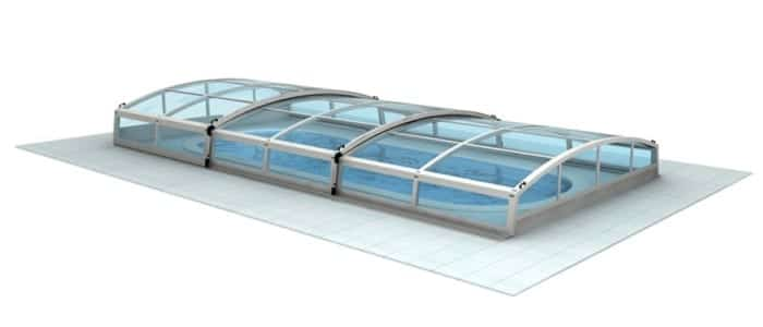 Low Level pool enclosure xRAY main