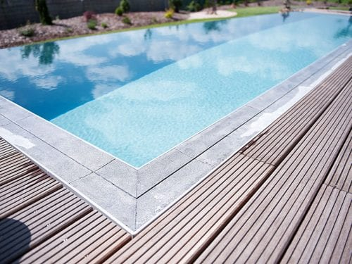 Dura Polymer Plus Unique Overflow Strong One-piece Swimming Pool G2