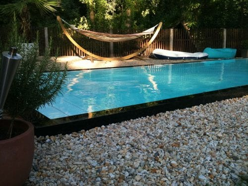 Dura Polymer Plus Unique Overflow Strong One-piece Swimming Pool G6