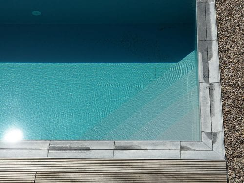 Dura Polymer Plus Unique Overflow Strong One-piece Swimming Pool G7
