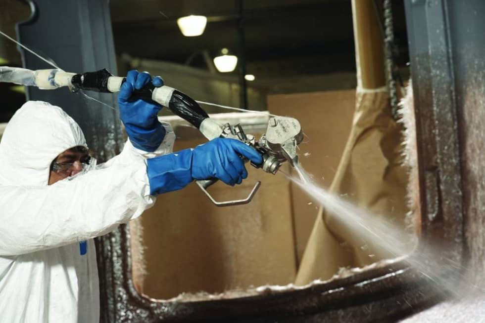 fibreglass spray gun