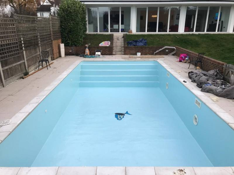 Premium Fibreglass Swimming Pool Linings Spray-On Fibreglass System!