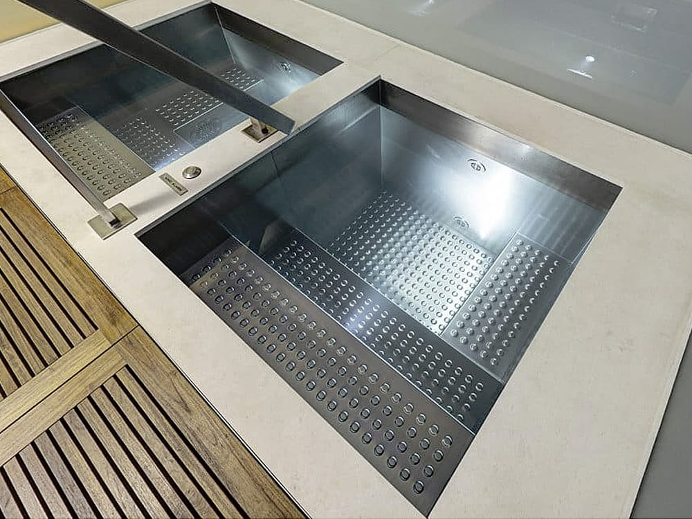 Stainless Steel Plunge Pools