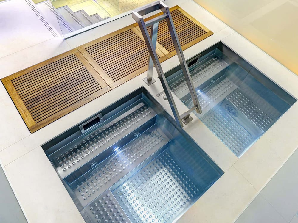 Stainless Steel Fitness & Therapy Pools