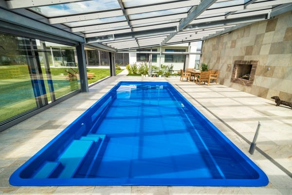 Coral Glass Composite Swimming Pools
