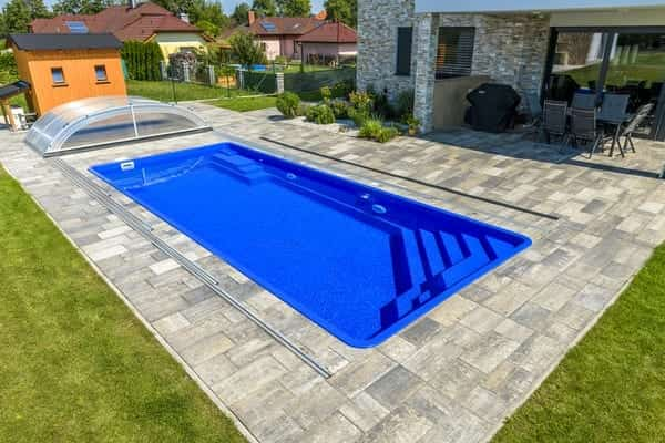 Coral GEMINI Glass-Composite Pool (8.2m X 3.5m X 1.5m)