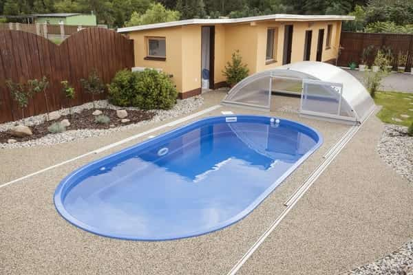 Coral IKAROS Glass Composite Pool