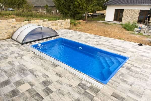 Coral LYRA Glass-Composite Pool (6.2m X 3.1m X 1.4m)