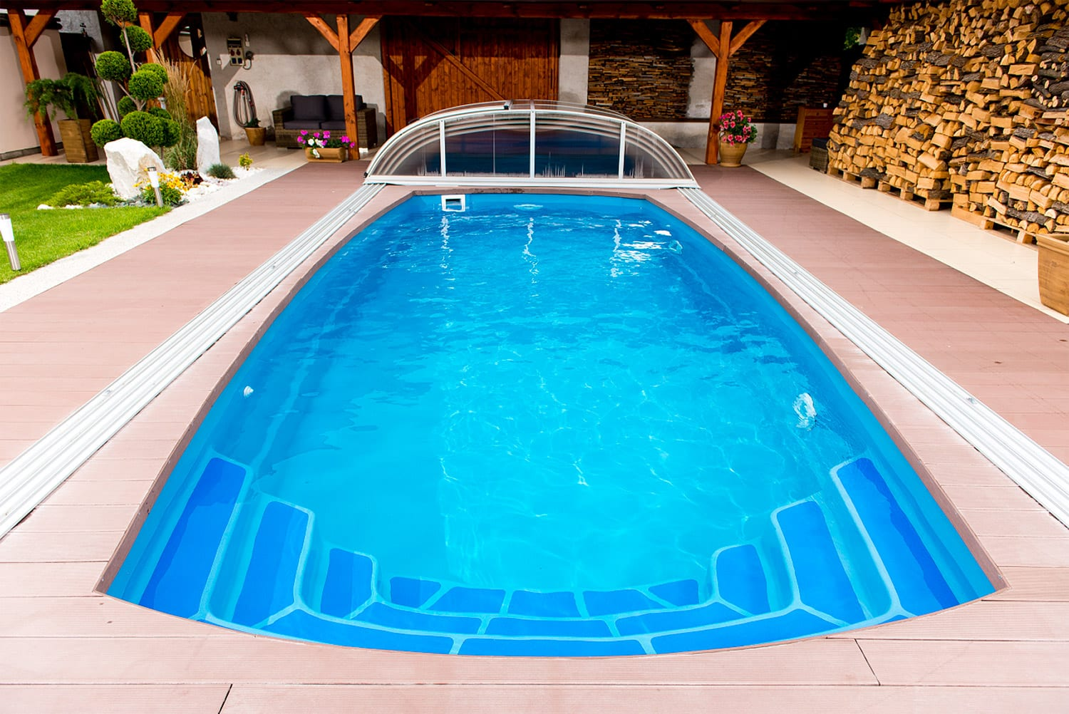 Coral ORION Glass-Composite Pool (7.5m X 3.5m X 1.5m)