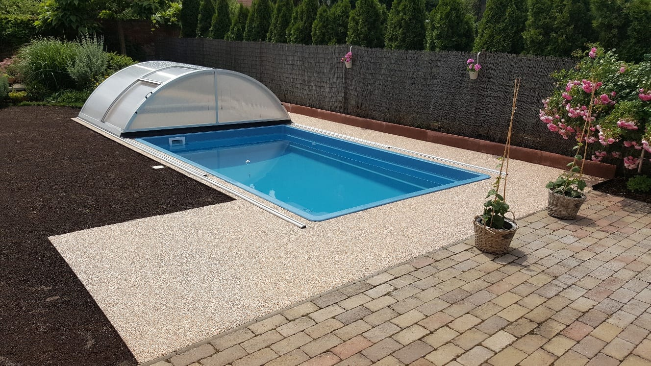 Coral Smart Glass Composite Pool 3