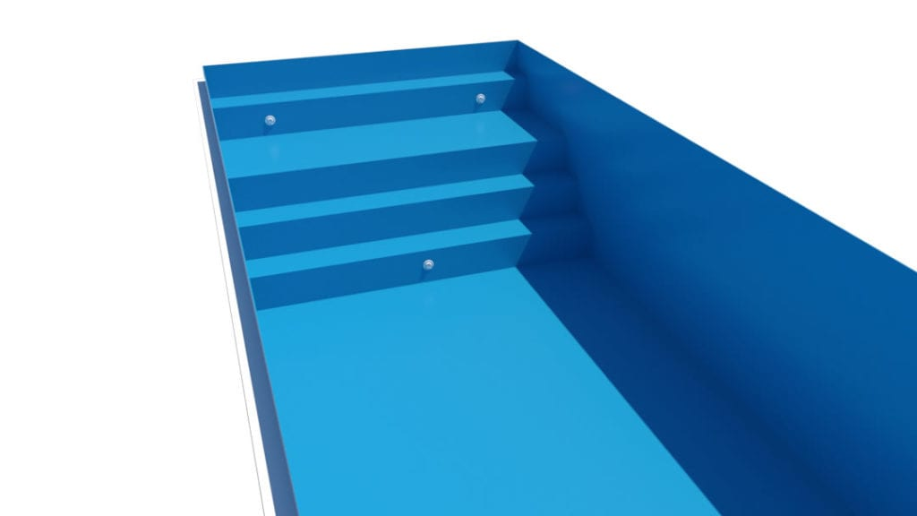 Dura Polymer Bigger Bench And Stairs