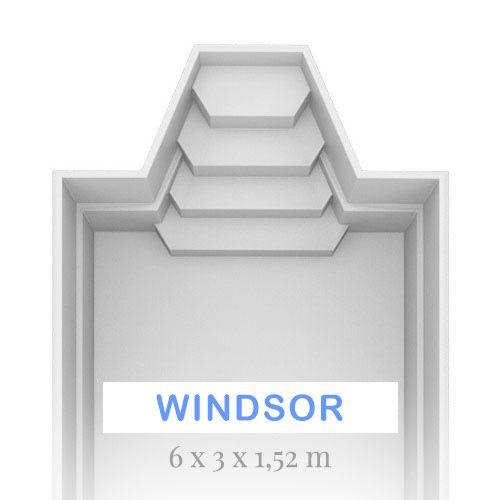 Windsor 6 X 3 X 1.52 EU Best Pool