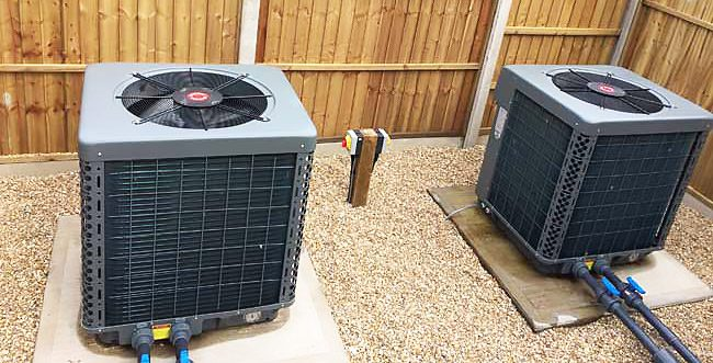 invertherm dual heat pump installs