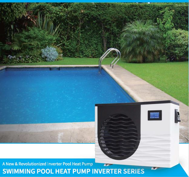 invertherm inverter pool heat pump scene
