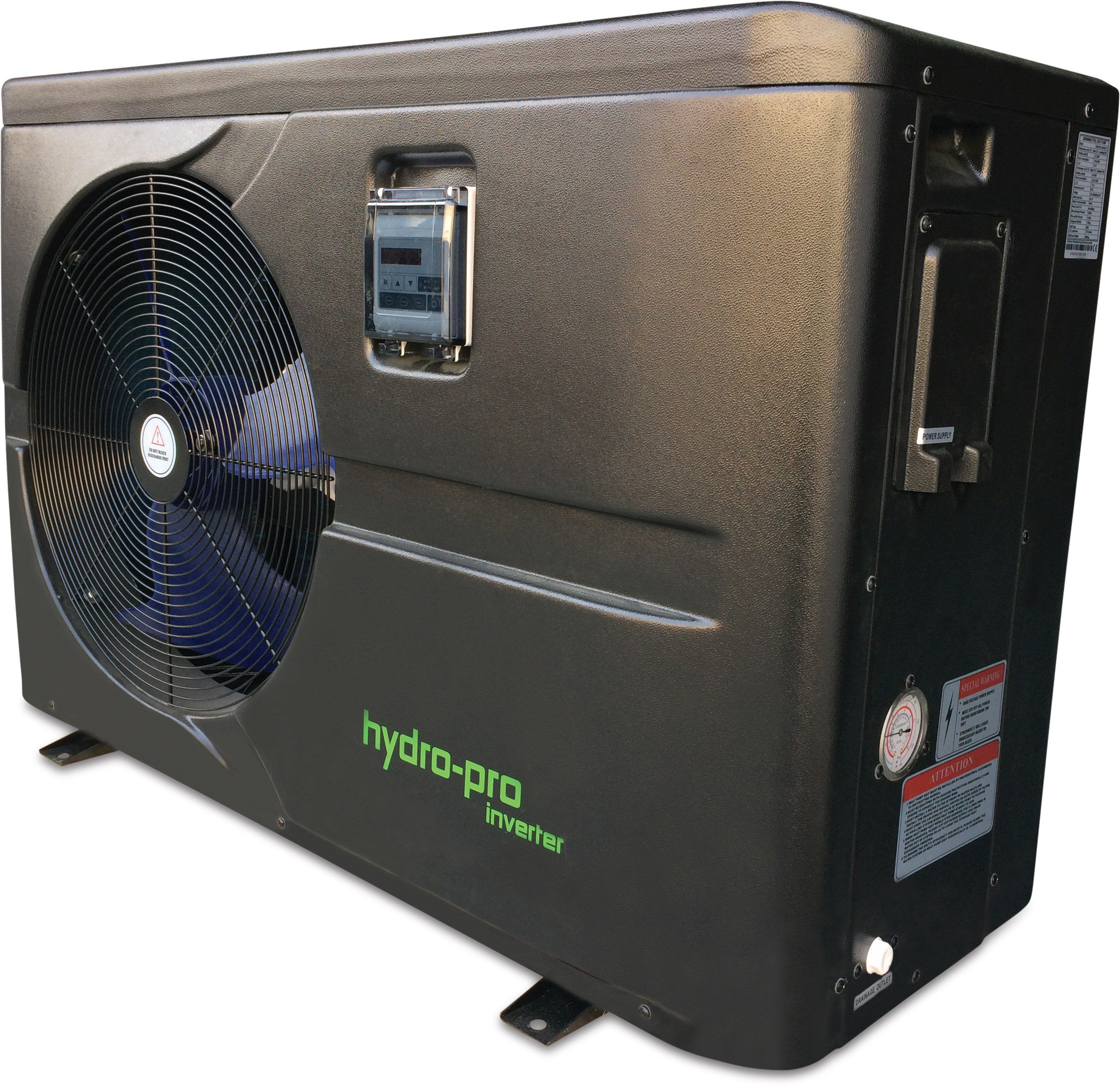 Hydro-Pro Heat Pump Inverter, Type Z Horizontal