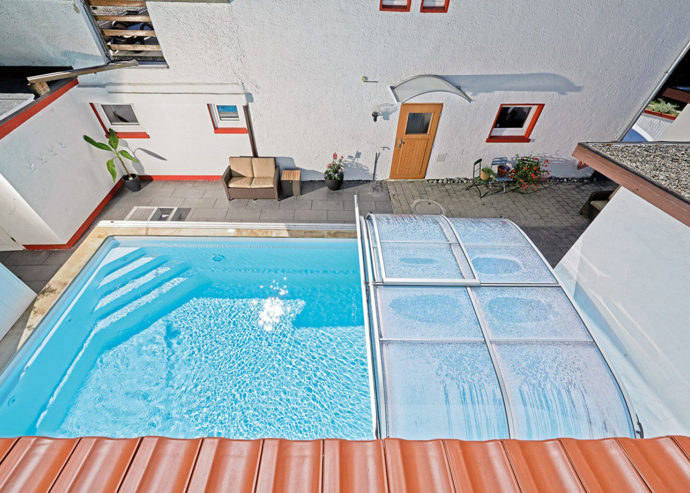 india 750r ceramic core pool with cover
