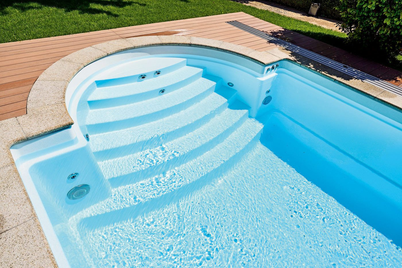papa 8.5M ceramic fibreglass core pool