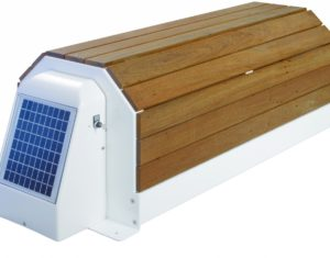 Automatic Covers and Reel systems: solar powered rollers