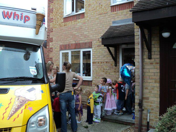 Ice Cream Van Hire for Parties and Events