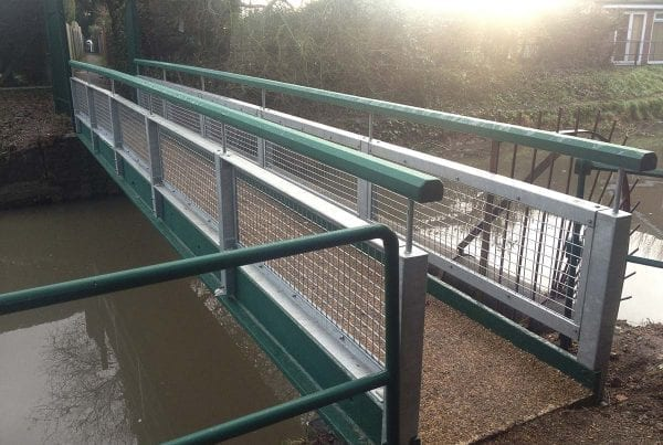 Huntingdon Close Bridge Refurbishment